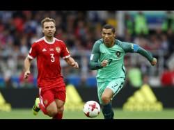 Confederations Cup Cristiano Ronaldo On Target Portugal Win Over Russia