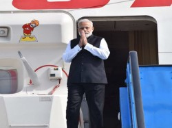 Narendra Modi Leaves Amsterdam After Concluding Us Trip