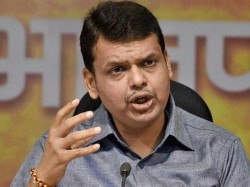 Another Close Shave Fadnavis As His Chopper Takes Off Unexpectedly