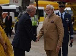 Modi Arrives Portugal Hold Bilateral Talks With Costa