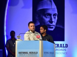 Bjp Government Is Silencing Everybody But National Herald Wont Be Silent Rahul Gandhi