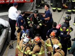 New York Subway Train Derails 12 Injured