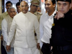 Next President Of India Ram Nath Kovind Meets Vajpayee