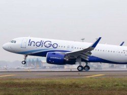 Indigo Coach Window Shatters From Jet Blast Five Injured