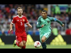 Confederations Cup Cristiano Ronaldo On Target Portugal Win Over Russia