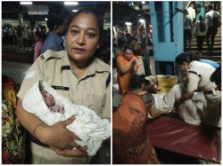 Thanks Police Officer Women Maharashtra Mother Gives Birth