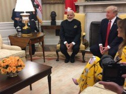 When Trump Met Pm Modi Together They Toured White House Exc