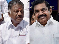No Announcement On Aiadmk Merger Eps Ops Stalemate Continues