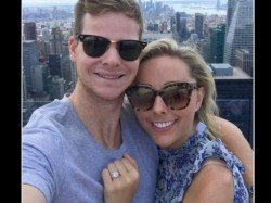 Steve Smith Gets Engaged Girlfriend Dani Willis New York