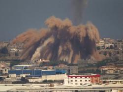 Israel S Retaliatory Strike Injures Three Gaza Claims Palestine