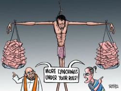 Mob Lynching Horror Bjp Congress Fight Over Dead Bodies