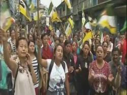 Women Power Takes Centre Stage Gorkhaland Movement