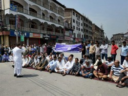 Restrictions Imposed In Srinagar To Prevent Anti Gst Protests