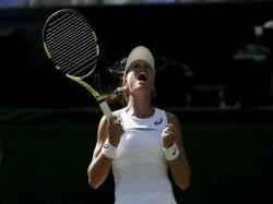 Wimbledon Johanna Konta Beats Caroline Garcia Last