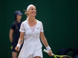Wimbledon Svetlana Kuznetsova Reaches Quarterfinal