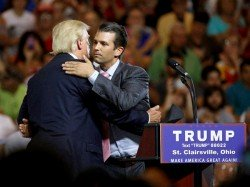 Trumps Eldest Son Was Promised Damaging Info About Hillary Clinton