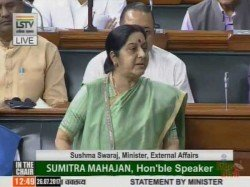 No Proof That Missing Indians In Mosul Dead Says Sushma Swaraj In Lok Sabha