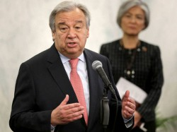 Un Chief Guterres To Make First Visit To Israel Palestinian Territories