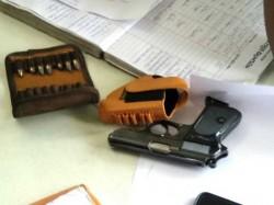 Police Recover Glock Pistol 14 Bullets From Maharashtra Man In Tirupati