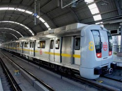 Delhi Metro Technical Glitch Affects Services On Pink Line