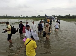Indian Tourists Among 600 Stranded In Nepal Due Floods