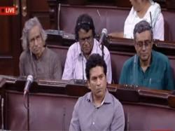 Sachin Tendulkar Opens Account Finally Attends Rajya Sabha