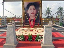 Jayalalithaa Memorial Decked Up Ahead Of Possible Aiadmk Merger