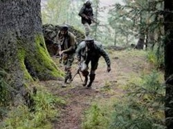 J K Terrorists Open Fire At Crpf Police Joint Naka Party Pulwama