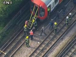 Explosion In London Underground Train