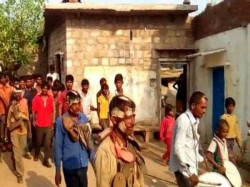 In Mp 3 Men Garlanded With Shoes Paraded Consuming Alcohol