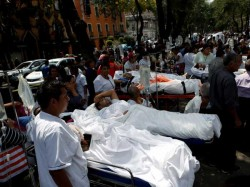 Several Dead As Major Earthquake Strikes Mexico
