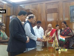 Nirmala Sitharaman Takes Charge As 26th Defense Minister