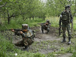 J K Encounter Underway Between Security Forces Terrorists In Baramulla