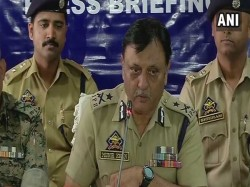 Igp Kashmir Appeals Youth To Shun Violence Join Mainstream