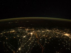 This Image From Space Of A Brightly Lit India On Diwali Is A Must See