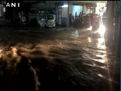 Waterlogging Various Parts Hyderabad After Heavy Incessant