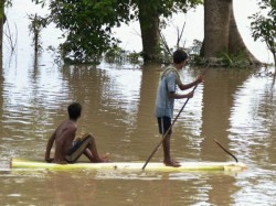 k People Affected As Fresh Floods Submerge 5 Assam Districts