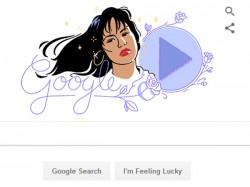 Google Doodle Celebrates Queen Of Tejano Music Selena Quintanilla