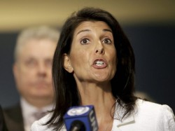 New Russia Sanctions Syria Nikki Haley Says Yes Trump Says No