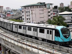 Kerala Cm Commissions Second Reach Of Kochi Metro