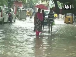Chennai Receives Heavy Rainfall Throwing Life Of Gear