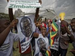 Emmerson Mnangagwa Sworn As Zimbabwe President