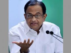 Former Fm Chidambaram Fires Salvos At Modi Government For Economic Slowdown