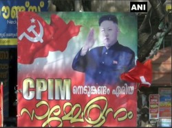 Kim Jong Un Kerala Bjp Asks If Left Will Launch Missiles On Bjp Offices
