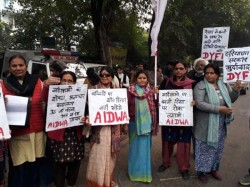 Women Take To Streets To Protest Hisar Child Rape