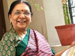 Former Gujarat Cm Anandiben Patel Is The Governor Madhya Pradesh