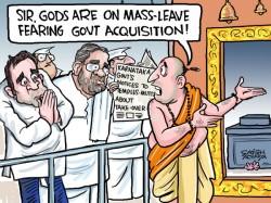 Karnataka Government Stirs Up Mutt Takeover Row
