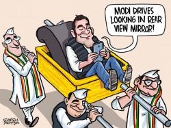 Rahul Enjoys His Palanquin Ride Karnataka