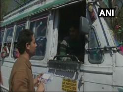 J K Officer On Mission Provide Medical Aid Drivers On Highwa