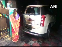 Petrol Bomb Hurled At Bjp Leader S Car Tn Is It Over Periyar Statue Vandalisation